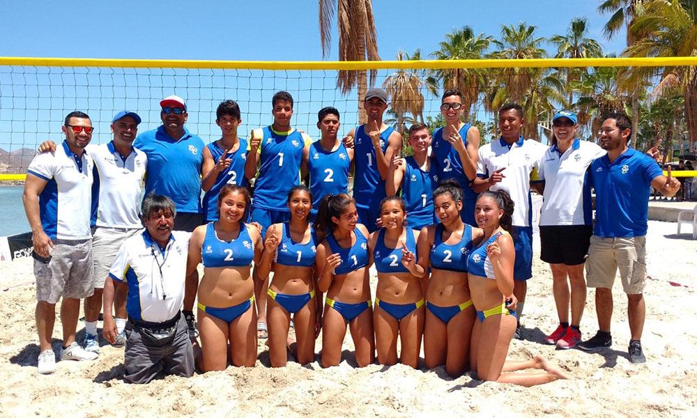 Clasifica Baja California a 5 equipos en Voleibol de Playa