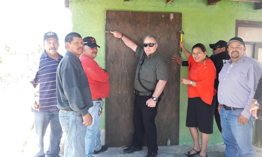 Clausuran picadero en la delegación de la Rumorosa en Tecate