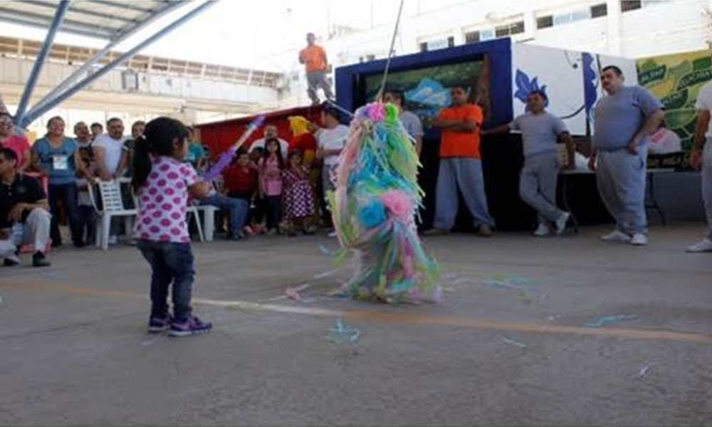 Conviven privados de la libertad del cereso de Mexicali con sus hijos