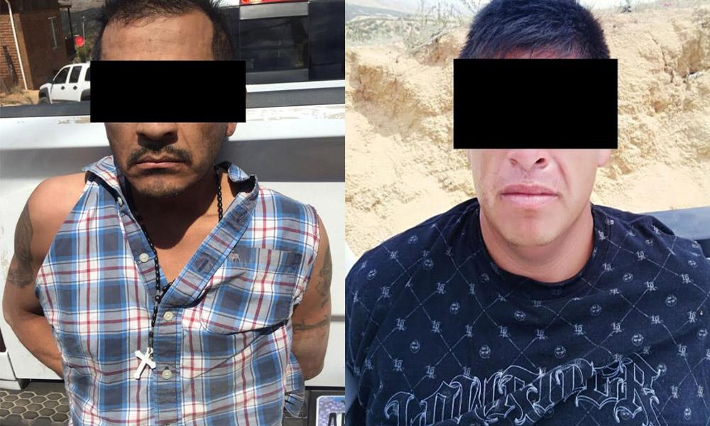 Detiene a dos sujetos por robo a farmacia en Ensenada