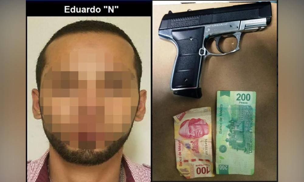 Aprehenden a sujeto por robo a mujer en Tijuana