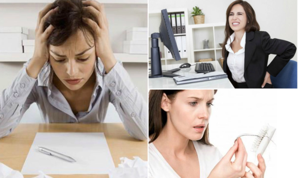 Entérate de cómo los síntomas del estrés afectan a tu cuerpo