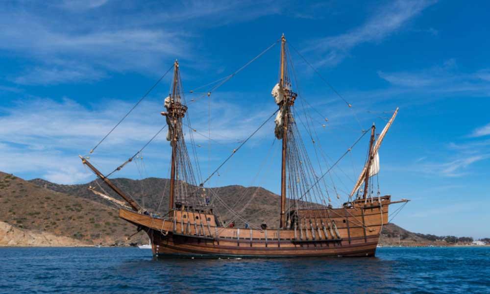 El galeón San Salvador visitará Ensenada para estar en exhibición