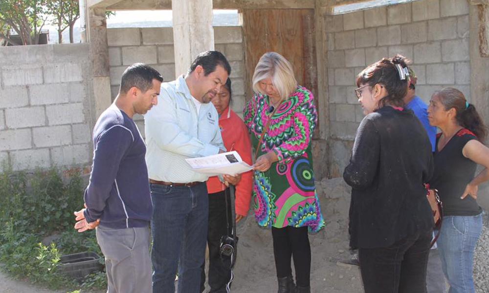 Gestiona Lic.Marina Calderón servicio de agua potable en la Rinconada