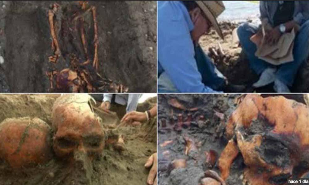 Hallan tumba prehispánica en Baja California Sur