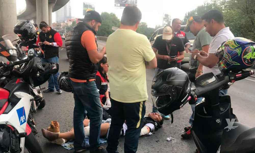 (VIDEO) Miguel Herrera estuvo involucrado en un accidente cuando se dirigía al entrenamiento