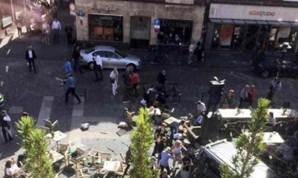 Hombre se suicida tras arrollar a peatones; en Alemania