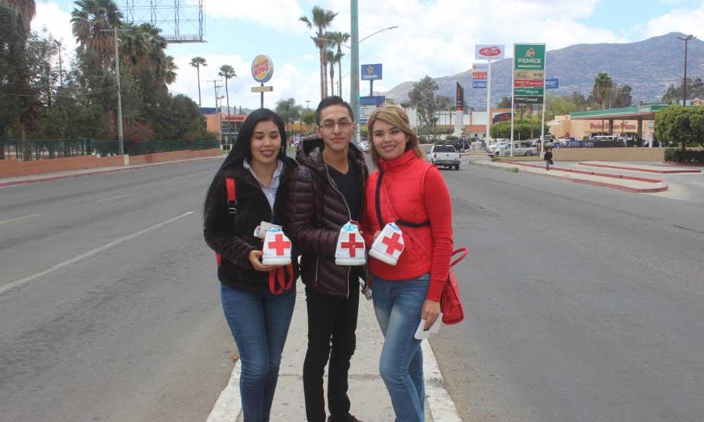 Imjuvet se suma a la Colecta Anual de Cruz Roja en Tecate