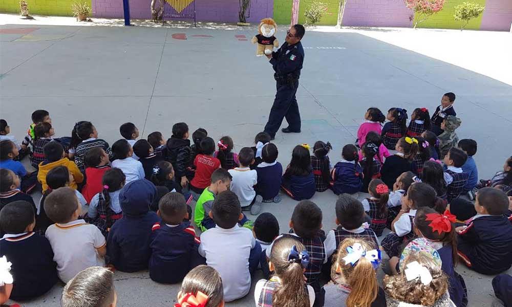 Imparten pláticas preventivas a cerca de 400 niños en Tijuana