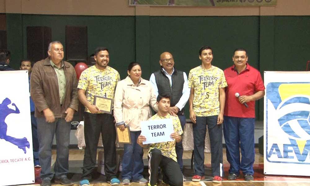 "Inició en Tecate el Torneo de Volibol ""Ruditos Team"""