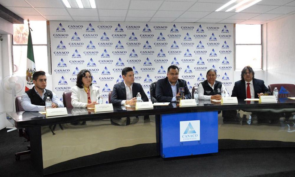 Inmujere y Canaco signan acuerdo de colaboración en Ensenada