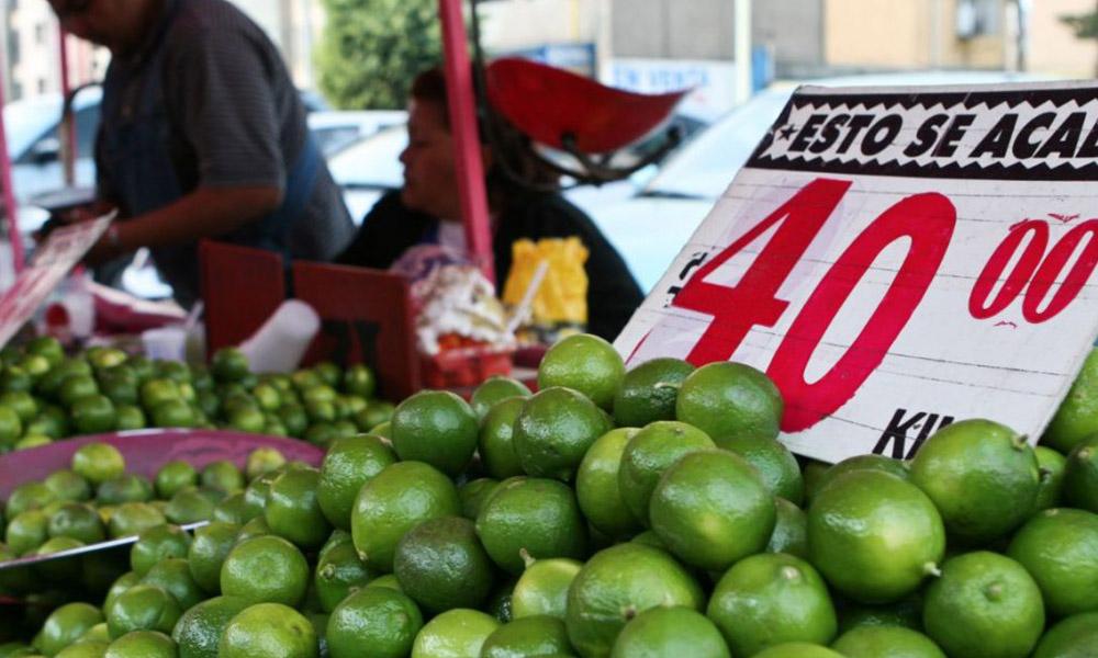 Limón, producto básico con mayor variación en su precio