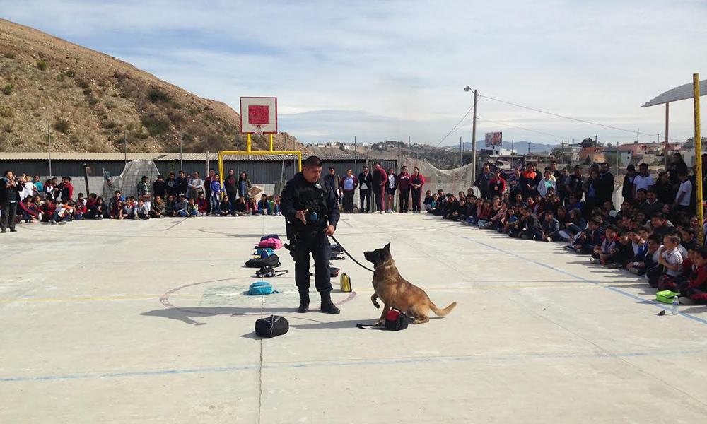Llevan tema preventivos a más de mil 500 estudiantes en Tijuana