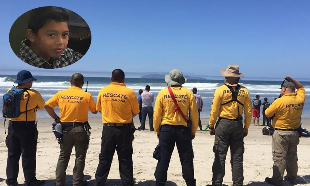Localizan cuerpo de Erick, desaparecido en Playa de Rosarito