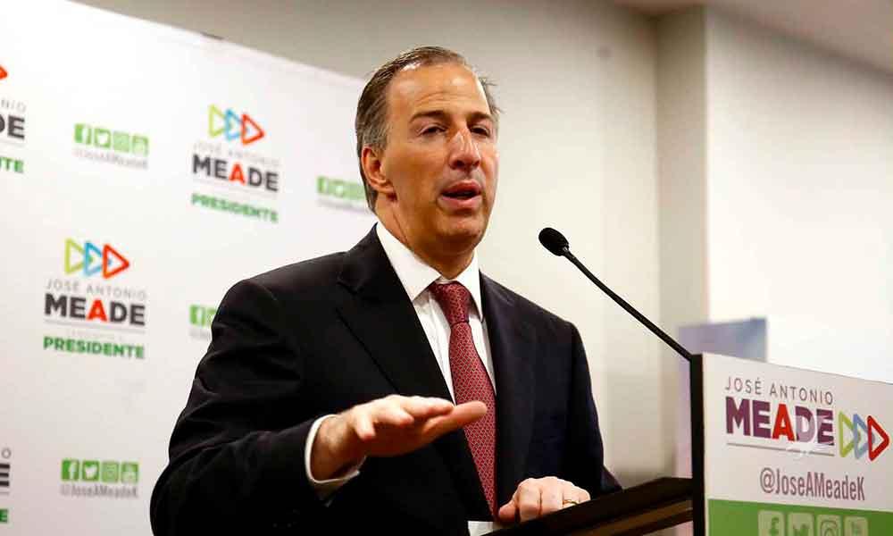 José Antonio Meade arremete contra AMLO: advierte viene su tercer strike