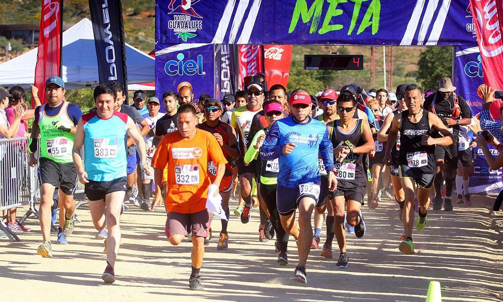 """Se llevará a cabo """"Medio Maratón de Valle de Guadalupe 2018"""" el 22 de abril"""