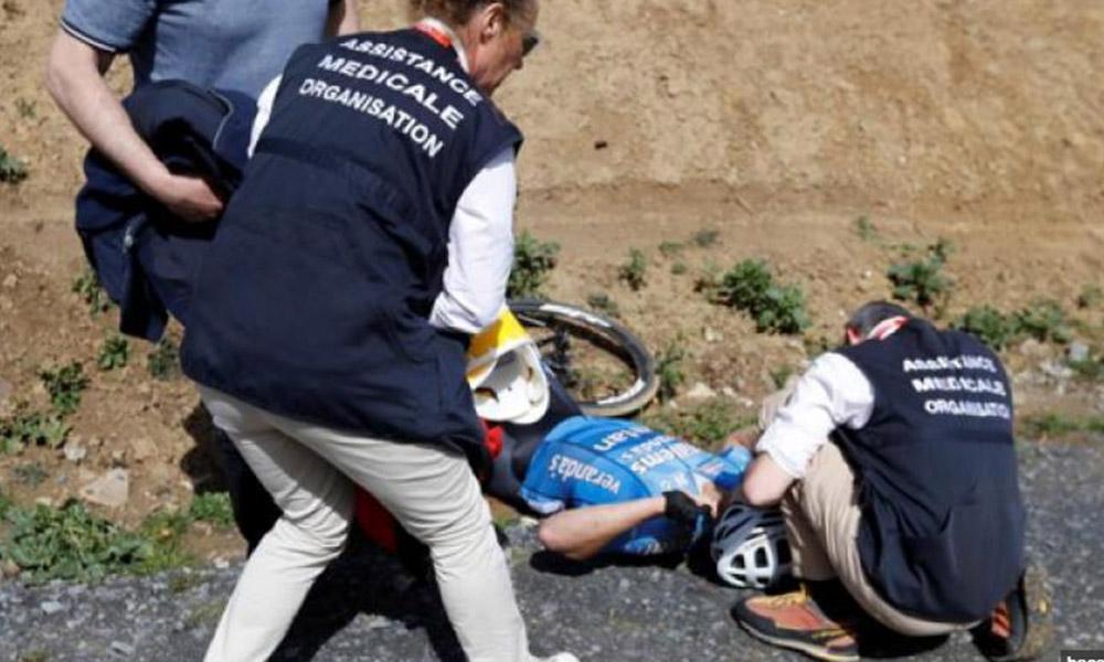 Muere ciclista belga tras infarto durante competencia en París