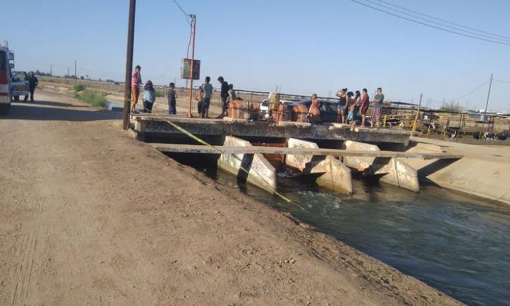 Muere menor de 13 años tras caer a un canal en Mexicali