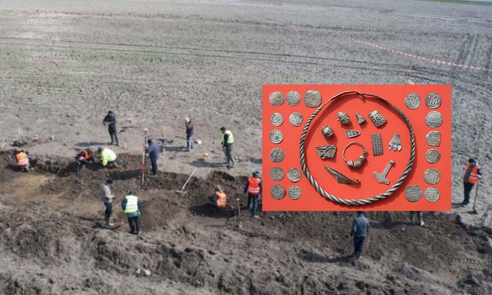 Niño descubre tesoro vikingo en Alemania