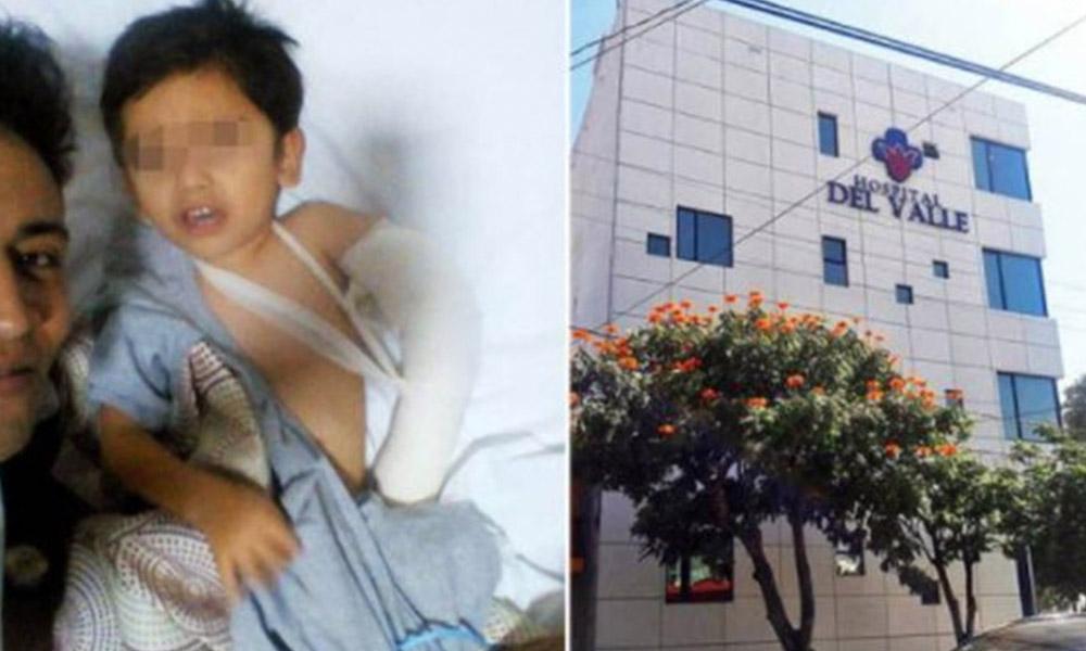 Niño de 3 años ingresa a hospital por fractura; Muere en operación