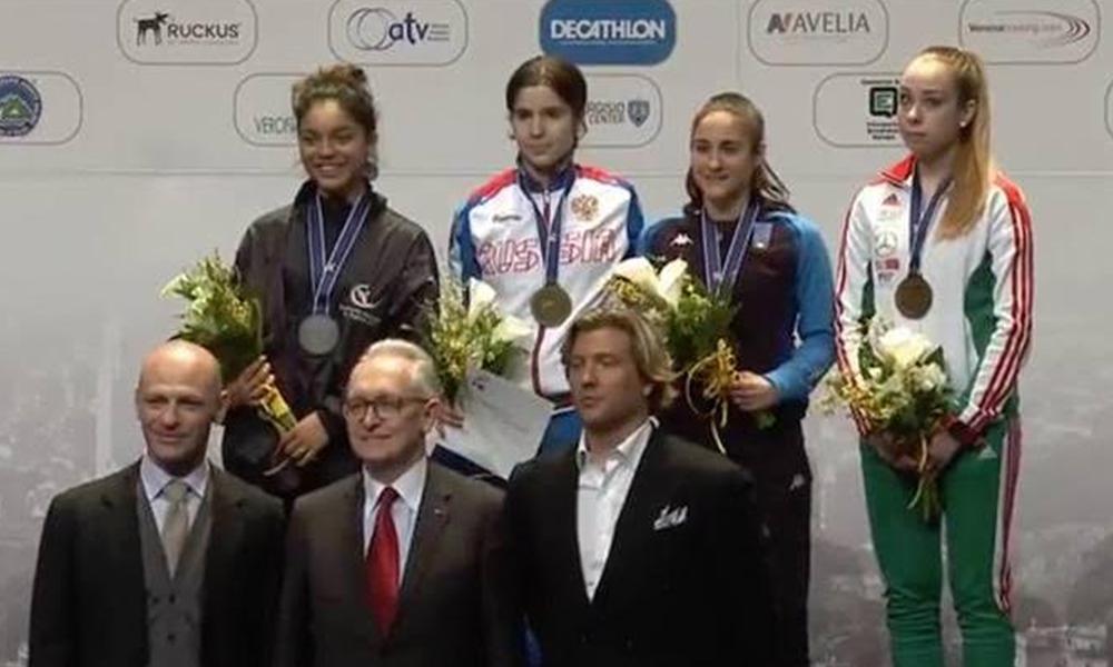 Obtiene Natalia Subcampeonato Mundial en Sable Femenil