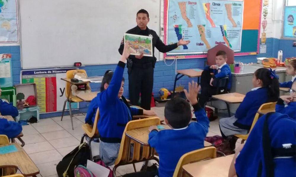 Participan 162 niños en pláticas preventivas en Tijuana