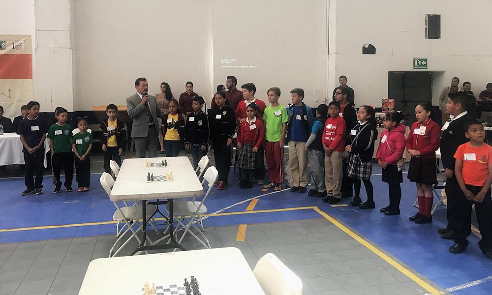 Participaron 108 estudiantes de primaria en competencia final torneo ajedrez