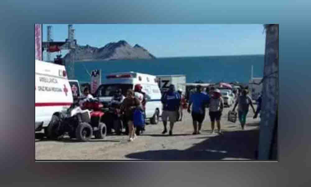 Paseo mortal: Cae mujer de cuatrimoto y muere (VIDEO)
