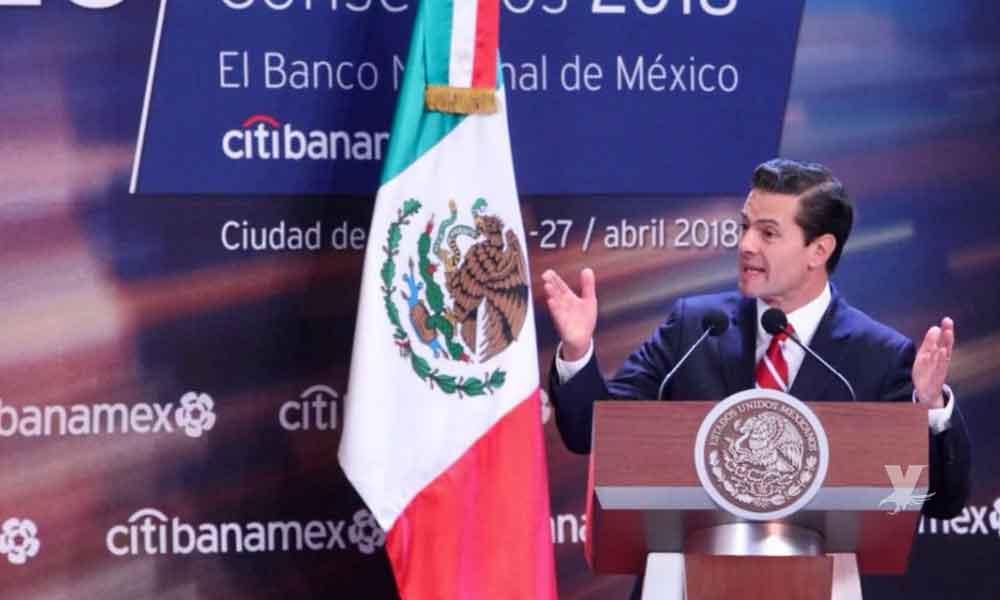 """Enrique Peña Nieto pide a los mexicanos """"votar con las razón y no con el estómago"""""""