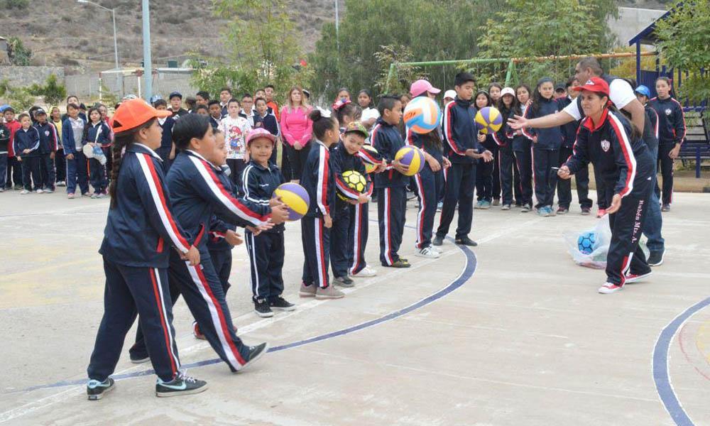 Promueven la activación física entre la niñez en Ensenada
