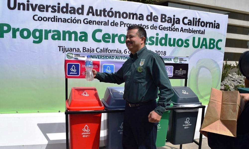 Promueve UABC Programa Cero Residuos en Campus Tijuana