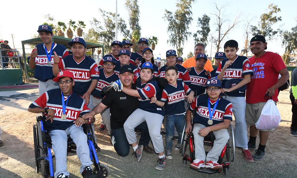 Realizan Copa Challenger de béisbol Infantil en Mexicali