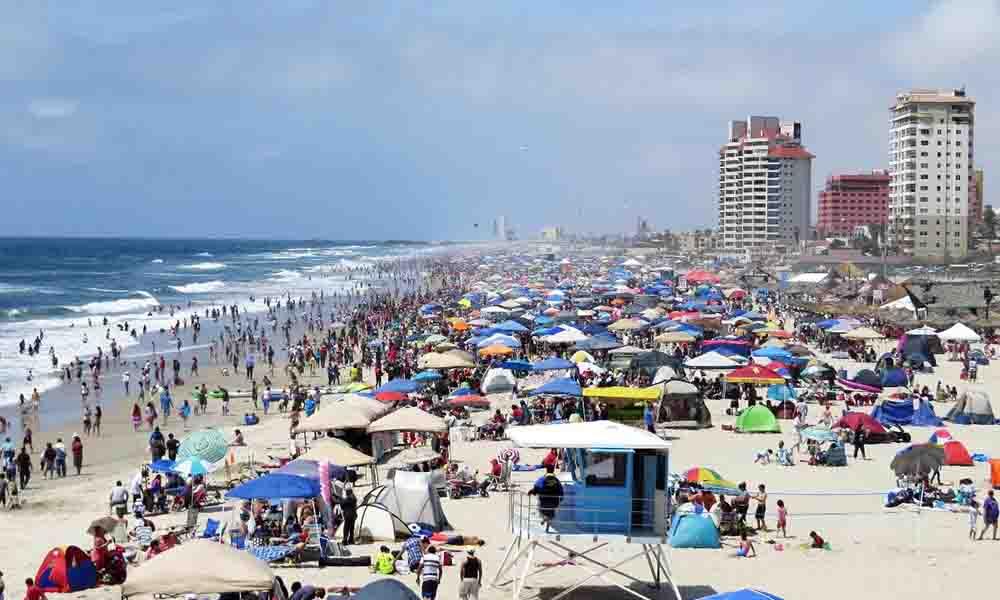 Registró Playas de Rosarito 70 mil turistas en periodo vacacional