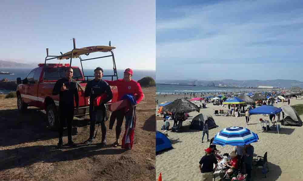 Reiteran medidas preventivas en Playas en Ensenada