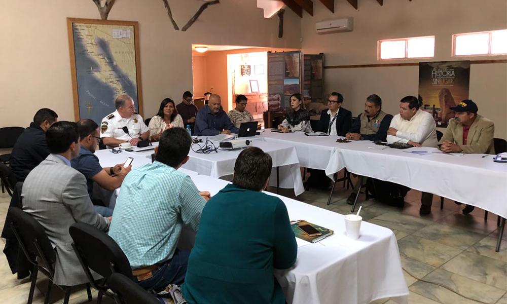Se reúnen para coordinación en materia de seguridad en Tecate