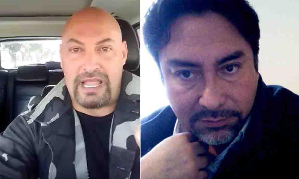 """Te voy poner una pu""…amenazan a reportero de Baja California (VIDEO)"