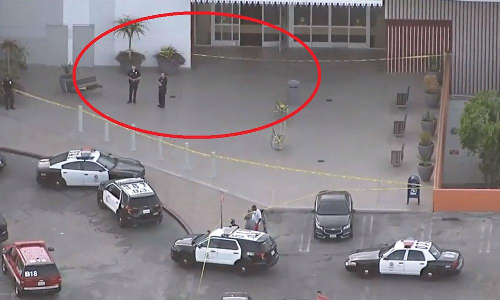 Reportan tiroteo en centro comercial de Los Ángeles (VIDEO)