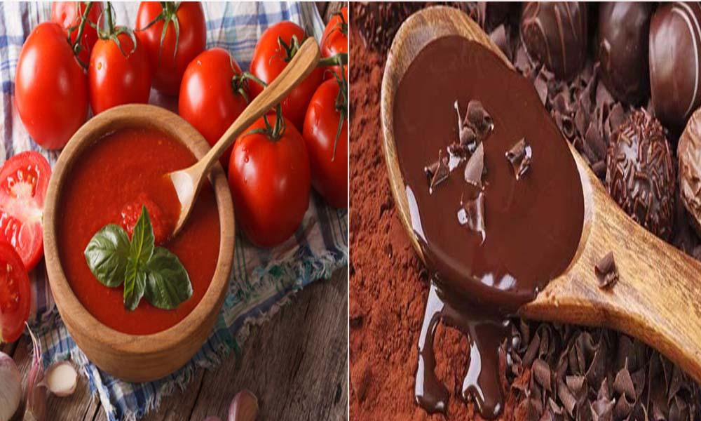 ¿Sabías que el tomate engorda más que el chocolate?