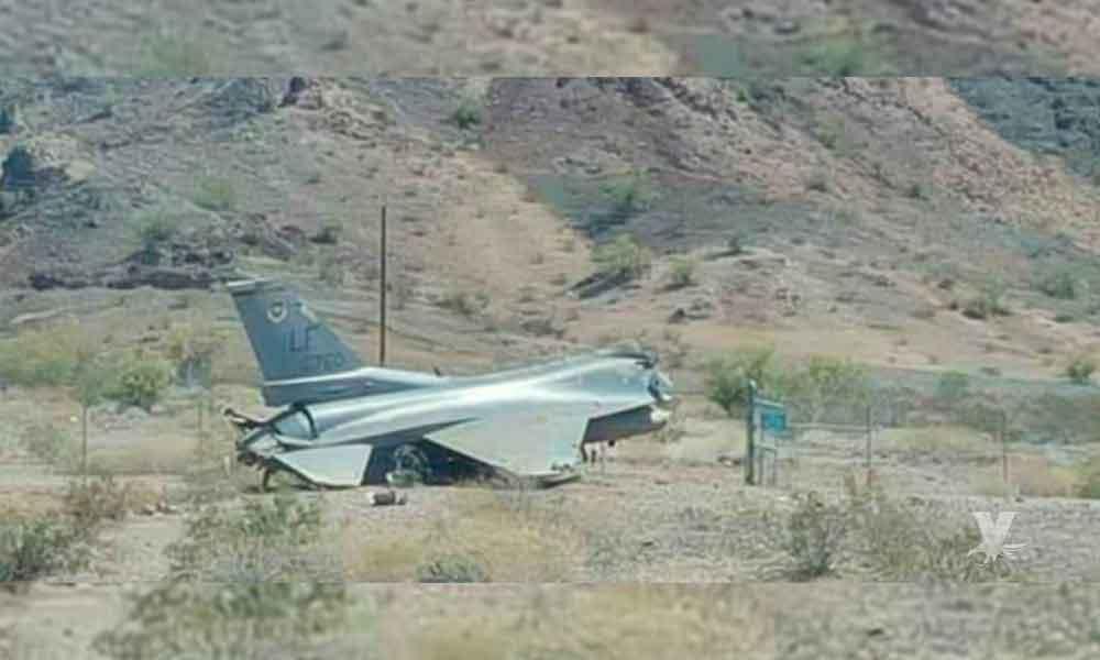 Avión F-16 calló tras realizar un vuelo de entrenamiento