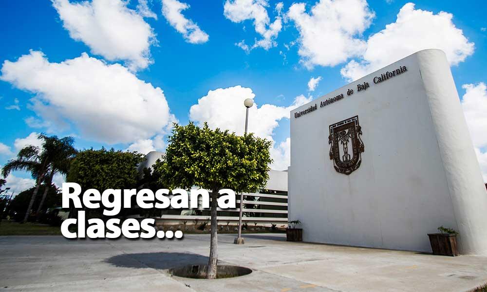Mañana reinician actividades en UABC