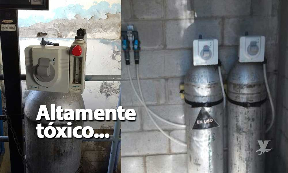 Roban tanque de Clorogas, Protección Civil emite alerta en toda Ensenada y alrededores