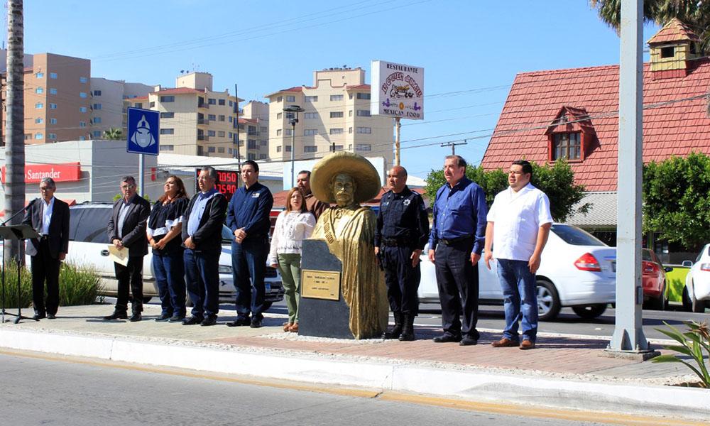 Conmemoran aniversario luctuoso de Emilaino Zapata en Ensenada