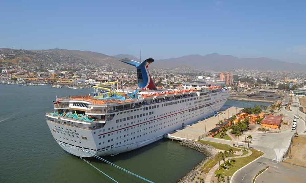 Arribaran 23 cruceros a Ensenada en el mes de abril