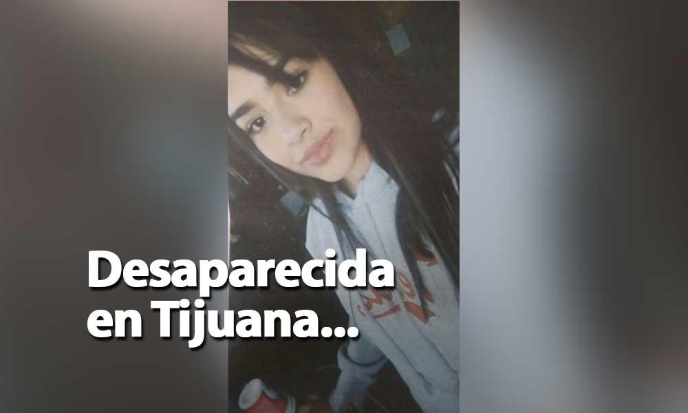 ¡Ayuda! Xochitl desapareció en Tijuana, estaba internada en un centro de rehabilitación