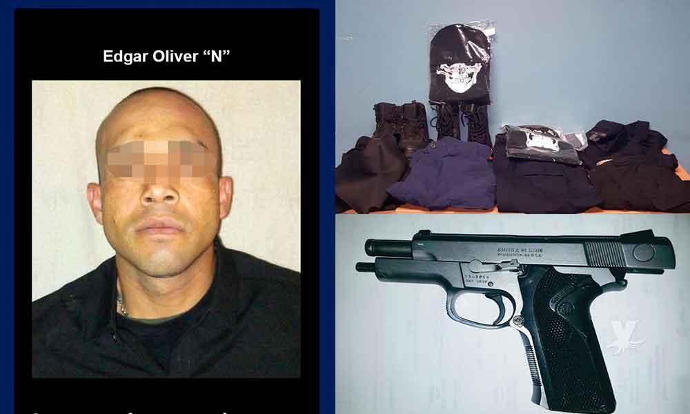 Hombre detenido por triple homicidio en Tijuana