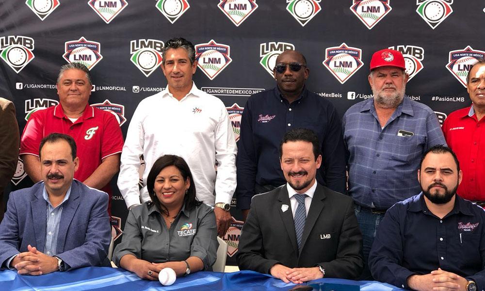 Firman convenio de cooperación entre la Liga Norte de México y Liga Mexicana de Beisbol
