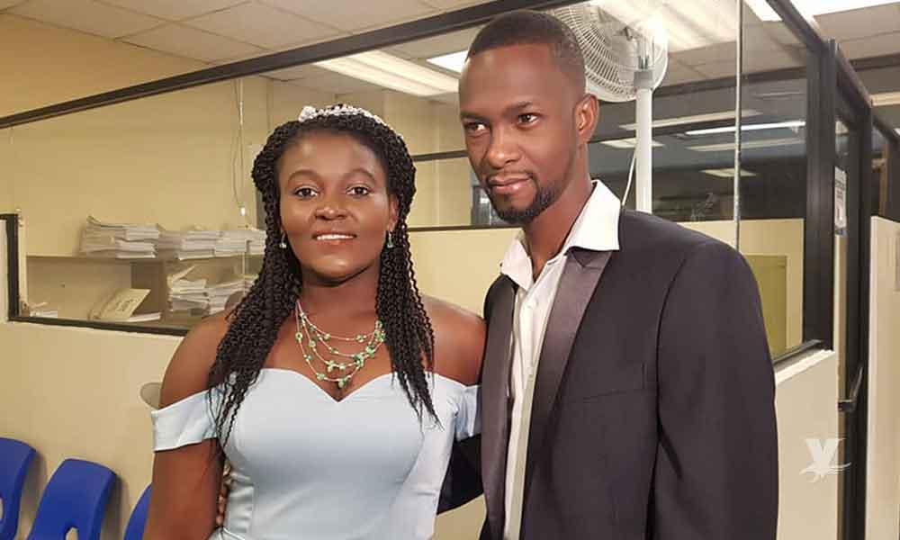Primer matrimonio entre haitianos en Baja California