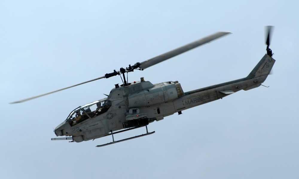 Pierden la vida cuatro miembros de la Marina tras choque de helicóptero en California cerca de México