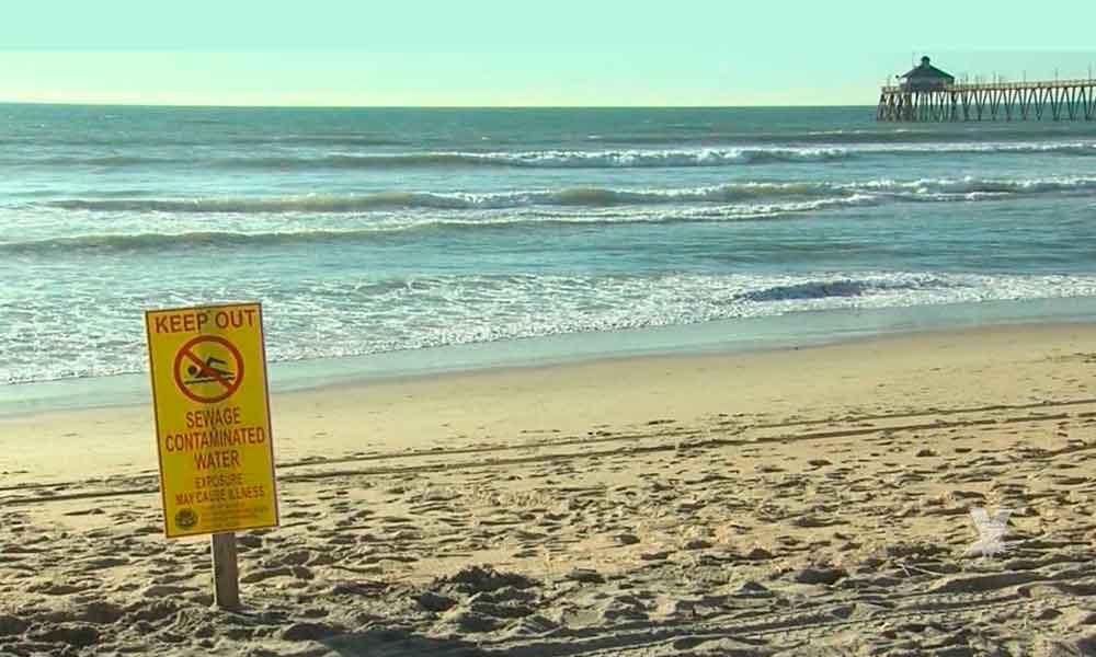 El mar de Imperial Beach es el afectado con la contaminación en Tijuana