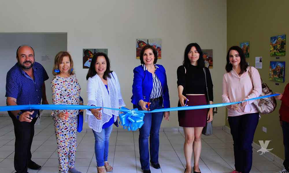 """Inaugura Ayuntamiento exposición """"Relajarte"""" en galería de IMAC"""